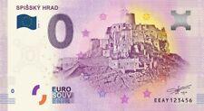 Billet Touristique 0 Euro - Spissky Hrad - 2018-1