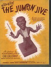 Jumpin Jive 1939 Cab Calloway Sheet Music
