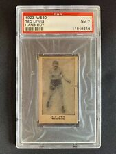 1923 W580, Ted (Kid) Lewis, Hand Cut, PSA 7, None Higher, Vintage Boxing Card