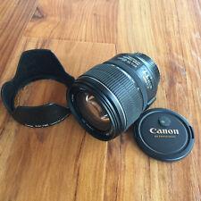 Canon EF-S 15-85mm f/3.5-5.6 IS USM Standard Zoom Lens - Mint