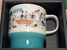 Starbucks JAPAN Geography Series Gifu Mug 2018