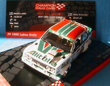 FIAT 131 ABARTH MIRAFIORI #1 ALEN KIVIMAKI 1979 1000 LAKES RALLY IXO 1/43
