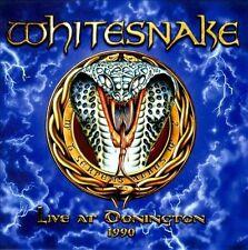 Live At Donington 1990 WHITESNAKE 2 CD SET ( FREE SHIPPING)