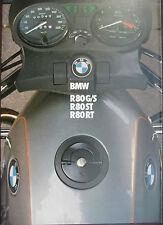 Prospekt BMW Motorrad R80G/S R80ST R80RT  II/82