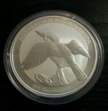 2011 Kookaburra 10 oz silver bullion coin Australian Perth Mint
