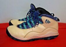 Nike Air Jordan 10 Charlotte Hornets 310806-107 Youth (Size 6.5Y)