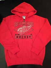 Detroit Red Wings Mens Large Zip-up Hoodie . M Lions Tigers Jersey Datsyuk