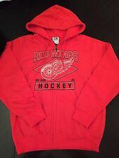 Detroit Red Wings Mens Large Zip-up Hoodie . M Lions Tigers Jersey Datsyuk