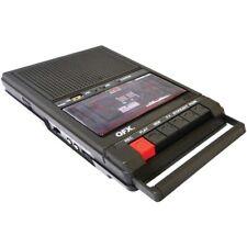Qfx Retro-39 Retro Shoebox Cassette Tape Recorder Qfxretro39