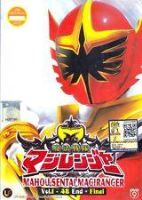 DVD Mahou Sentai Magiranger Ep. 1-48 End + Final Eng Sub 0 Region