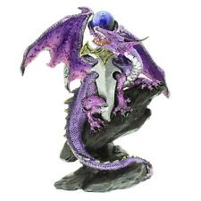 Purple Mystical Dragon Figurine with Sword New Boxed 61059