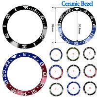 38mm für 40mm Ro lex GMT Mens Watch Ersatz Ceramic Bezel Insert Watch Ring NLI