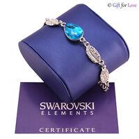 Bracciale donna argento Swarovski Elements originale G4Love elegante cristallo