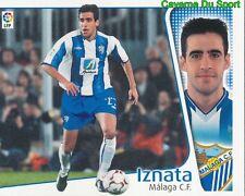 IZNATA ESPANA MALAGA.CF CROMO STICKER LIGA ESTE 2005 PANINI