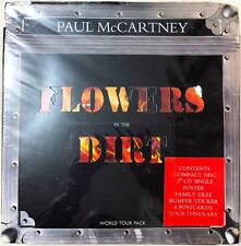"""""""SEALED CD"""" Paul McCartney Flowers In The Dirt World Tour Pack Limited #00839"""