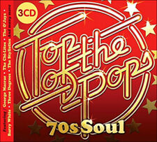 70'S SOUL  * 65 CLASSIC SOUL & MOTOWN HITS * New 3-CD Boxset * All Original Hits