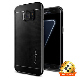 Spigen®For Samsung Galaxy S7 Edge [Neo Hybrid] Shockproof Bumper Case TPU Cover