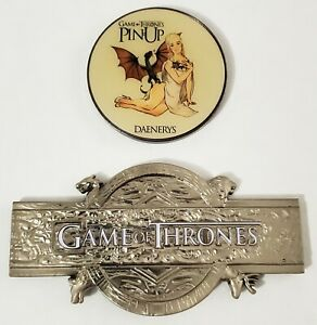 NYPD Game of Thrones Jack Maple and Daenerys Challenge Coin Bundle