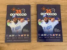 (2) 2017 Las Vegas 51s Game Day Programs Amed Rosario Mets