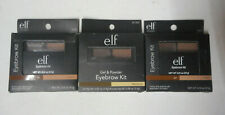 3 kit lot ELF (Eyes Lips Face) STUDIO EYEBROW KIT 81302 MEDIUM unsealed NIP