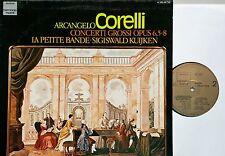 CORELLI Concerti Grossi 5-8 La Petite Bande Kuijken  LP DHM NM