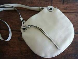 VINCE CAMUTO FARIA Jasmine PALE YELLOW Super Soft LEATHER CROSSBODY