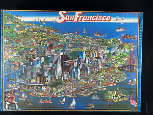CITY OF San Francisco 1988 Jigsaw Puzzle by Buffalo Games 504 Pieces