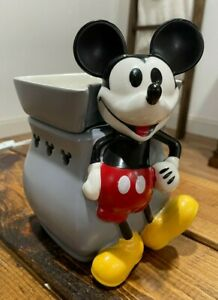 RETIRED Scentsy Limited Edition MICKEY MOUSE Classic Curve Warmer 55670
