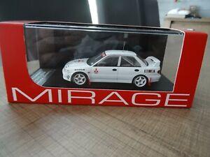 HPI-MIRAGE 1/43 MITSUBISHI LANCER EVOLUTION TEST CAR 1992 N°8543 VERY RARE !!!