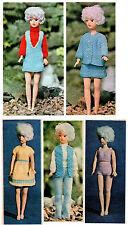 Barbie Sindy Dolls In Crocheting Knitting Patterns For Sale Ebay