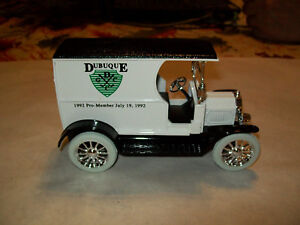 "Ertl #2904 ""Dubuque, Iowa Golf & Country Club #3 LE"" 1912 Ford T Open Bank MIB"