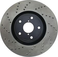 REAR Performance Cross Drilled Slotted Brake Disc Rotors TB31605