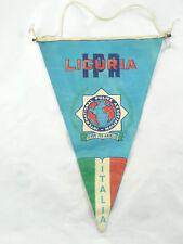 VINTAGE VIGILE POLIZIA GAGLIARDETTO CREST LIGURIA IPA GENOVA SAVONA IMPERIA