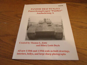 PANZER TRACKS NO.5-2 PANTHER A   FREE POST ON ADDITIONAL BOOKS