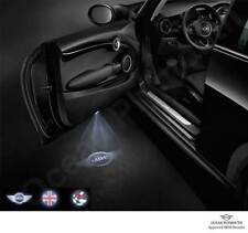 Genuine MINI LED Door Projectors - (MINI, Union Flag & Chequers) - 63312414106