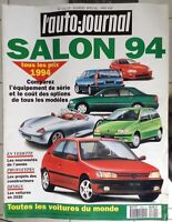 L'AUTO-JOURNAL N°14/15  NUMERO SPECIAL SALON 1994