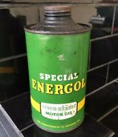 BP C.O.R Energol Visco-Static 1 Quart Vintage Oil Tin