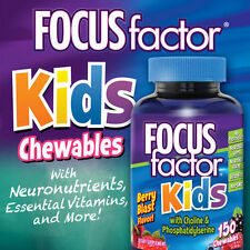 FOCUSfactor Kids, 150 Chewable Tablets New!!!