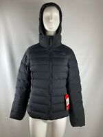 NWT The North Face Black Stretch Down Insulated Hooded Jacket Women's Size S