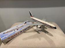 Delta Boeing 767-200 Spirit Of Delta Vintage Plastic Model