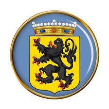 Est Flanders Oost-Vlaanderen (Belgique) Broche Badge