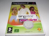 Singstar Popworld PS2 PAL *Complete*