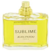Sublime Perfume by Jean Patou, Eau De Parfum Spray (Tester) 2.5 oz