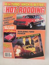 Popular Hot Rodding Mag. -  Dec. 1985 , V6 or Turbo: Which is Better  (1017)