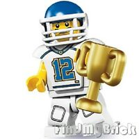 M301 Lego 8833 Minifigure Series 8 - Football Player - Brand New not Sealed NEW