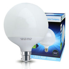 LED Globe Light Bulb 18W B22 Replacement for 162w Warm White Energy Saving G120