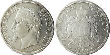 NAPOLEON  III  ,  2  FRANCS  ARGENT  ,  1869  A  PARIS