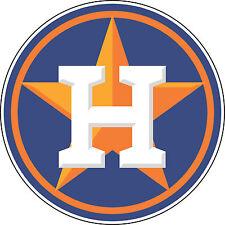 "Houston Astros MLB Baseball wall decor sticker Large vinyl decal, 9.5""x 9.5"""