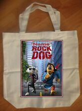 """Rock Dog Movie 2017"" Custom Personalized Birthday Tote Bag Party Favor"