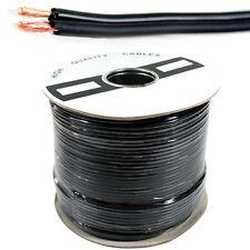 100M - 2 Core Twin Audio Cable/Reel - Dual Shotgun RCA Stereo Phono AV Coax Wire